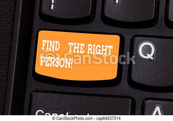 Escribir textos de escritura encuentra la demostración correcta. Concept significa Demonstrate Presenta tu punto de vista de la llave de Teclado Intention para crear un mensaje de computadora presionando la idea de teclado. - csp64237314