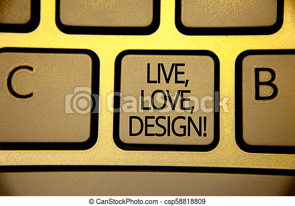 Escribir Textos En Vivo Amor Diseño De Llamada