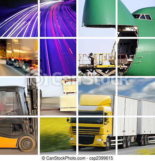 El concepto de transporte - csp2399615