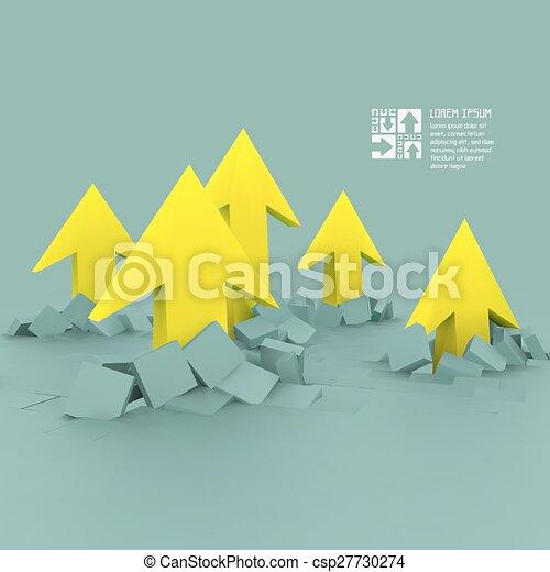 Ilustración de vectores de negocios. - csp27730274