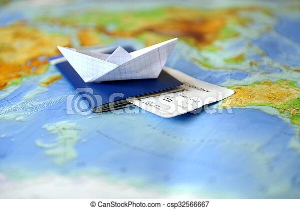 Un concepto de viaje - csp32566667