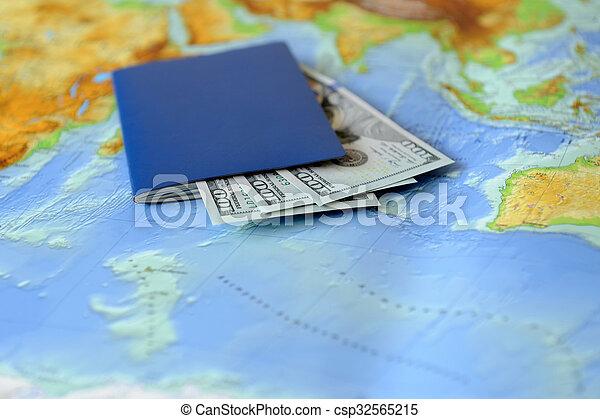 Un concepto de viaje - csp32565215