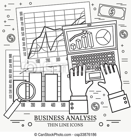Concepts For Business Analysis And Planning Consulting  Vector