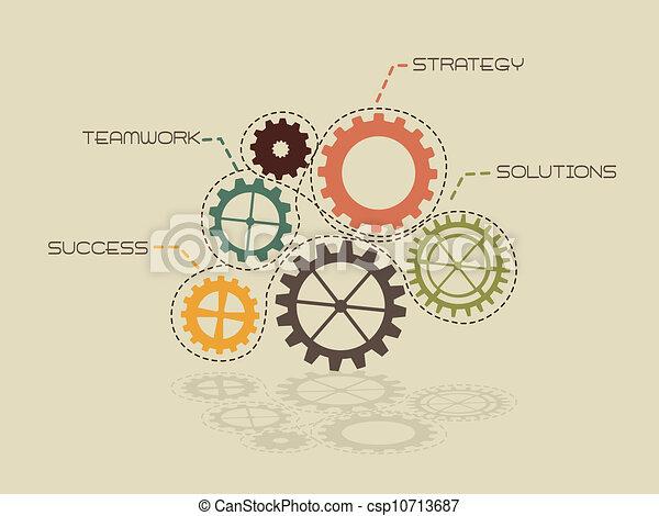 conceptual gears - csp10713687