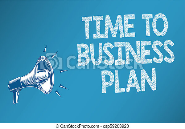 organizing a business plan