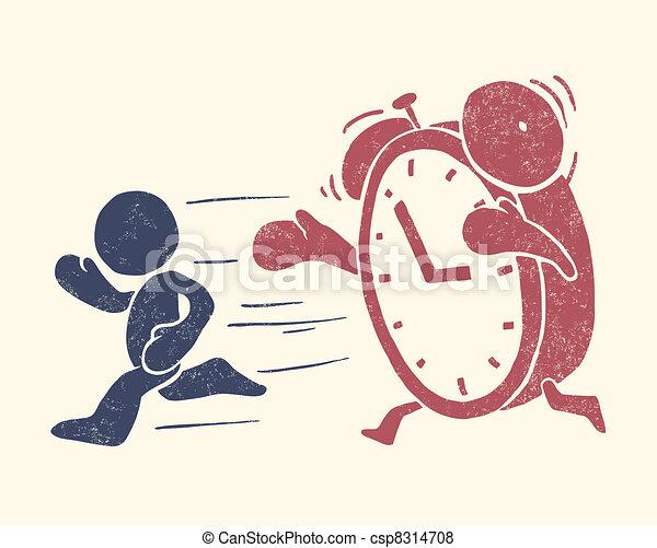 Ilustración conceptiva del tiempo - csp8314708