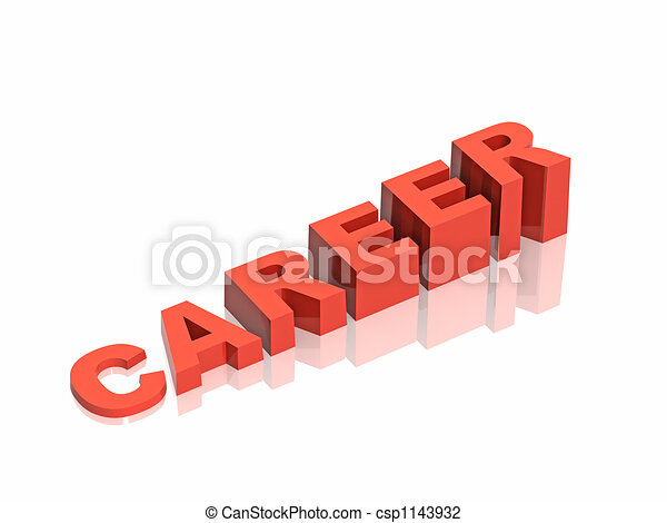Conceptual image - career a ladder - csp1143932