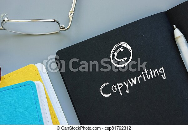 Conceptual photo about Copywriting with handwritten text. - csp81792312