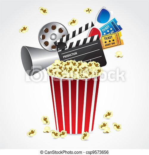 conceptual Popcorn - csp9573656