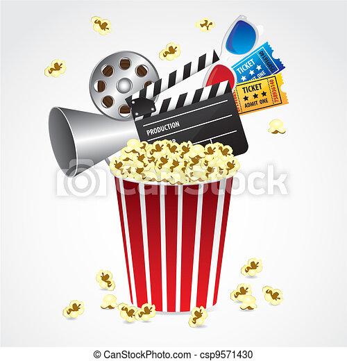 conceptual Popcorn - csp9571430