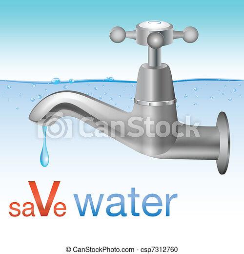 Conceptual save water design - csp7312760