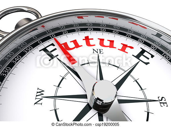 conceptuel, direction, avenir, compas - csp19200005
