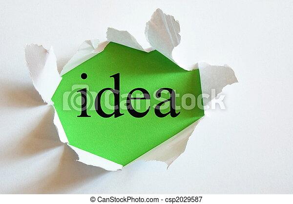 conceptuel, idée - csp2029587
