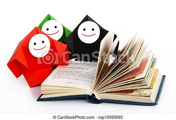 conceptuel, livres, image, étudier - csp10093093