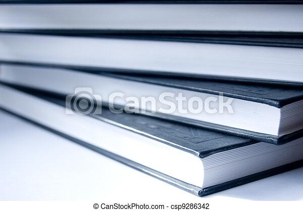 conceptuel, livres, image. - csp9286342