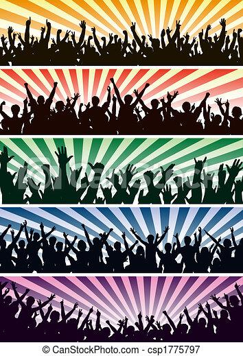 Concert crowds - csp1775797