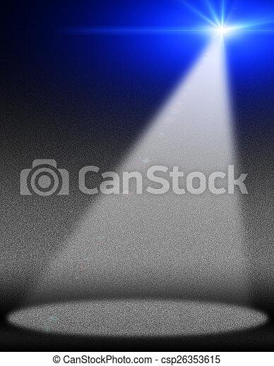 concert lighting - csp26353615
