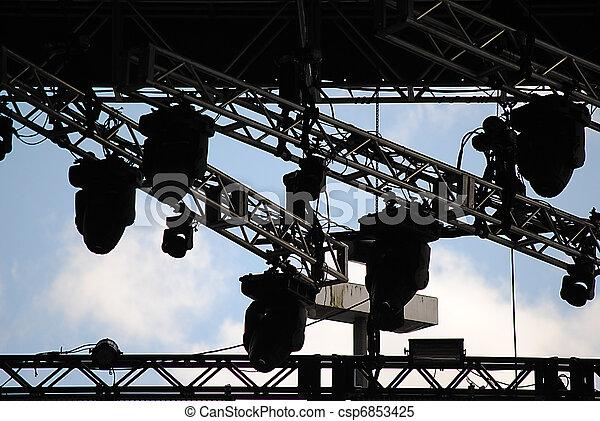Concert Lighting - csp6853425
