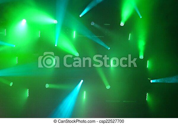 Concert Lighting - csp22527700