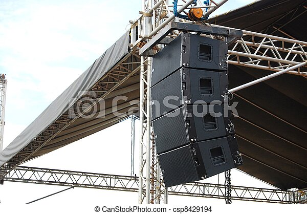 concert stage speakers. concert stage audio speaker - csp8429194 speakers r