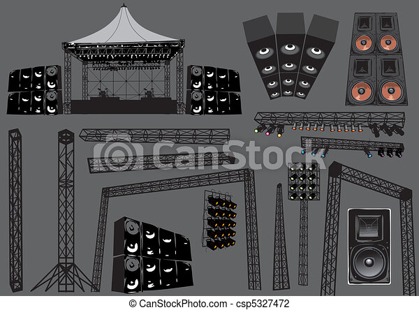 Concert Stage - csp5327472