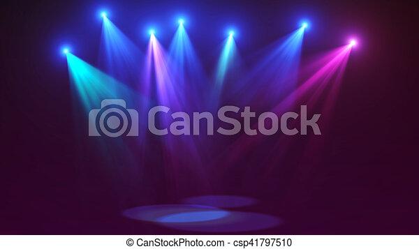 Concert stage lights (super high resolution) - csp41797510