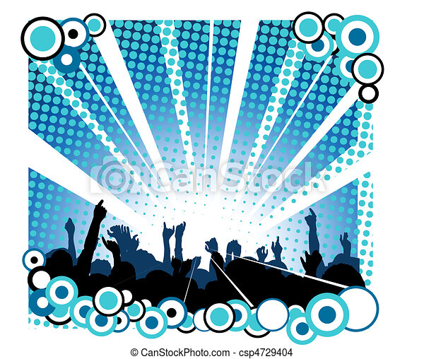 concerto, pessoas - csp4729404