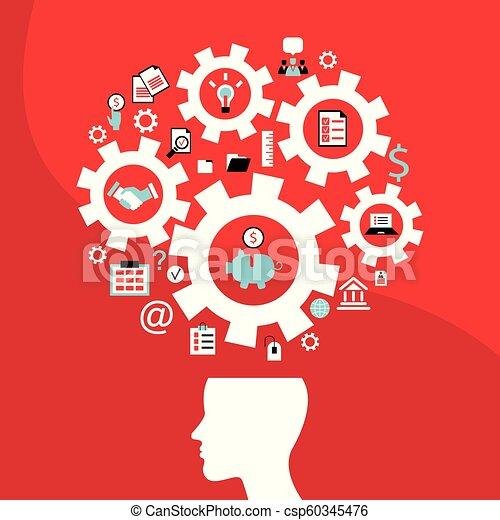 concetto, affari, successo, idea, luminoso, uomo - csp60345476