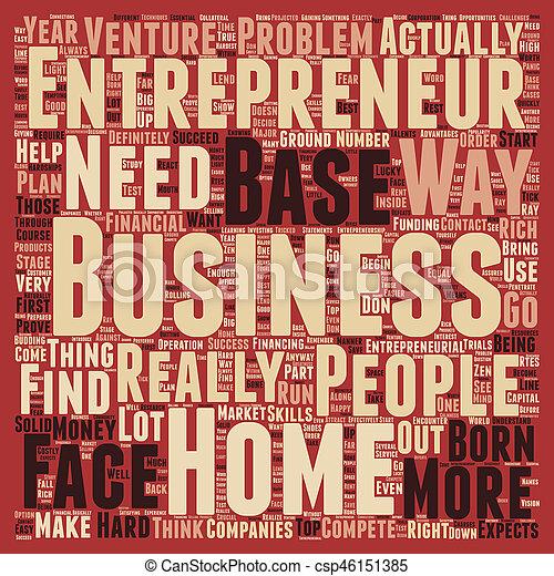 concetto, basato, affari, testo, 1, imprenditore, wordcloud, fondo, casa - csp46151385