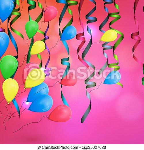 concetto, compleanno, fondo, celebrazione - csp35027628