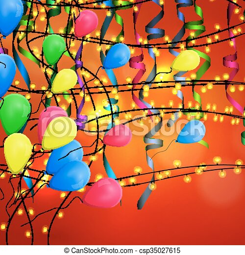 concetto, compleanno, fondo, celebrazione - csp35027615