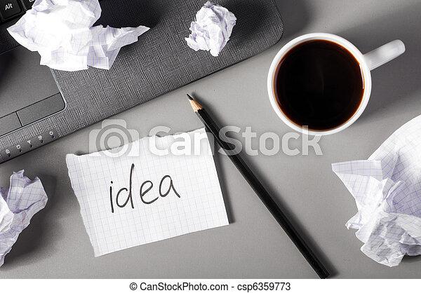 concetto, creatività, affari - csp6359773