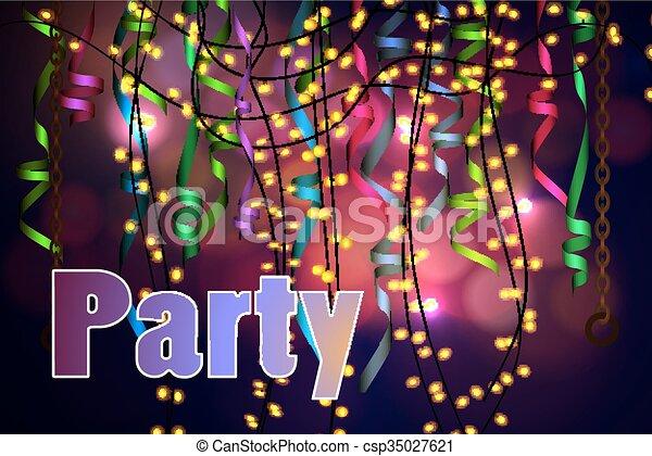 concetto, festa, celebrazione - csp35027621