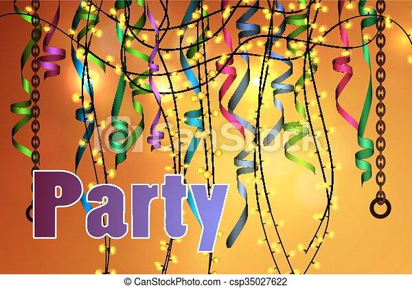 concetto, festa, celebrazione - csp35027622