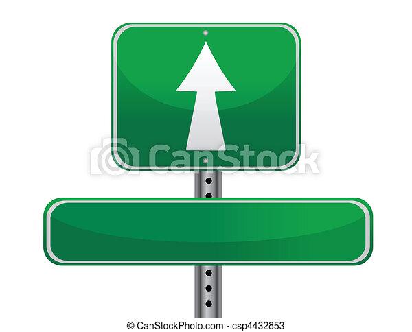 concetto, segno strada - csp4432853