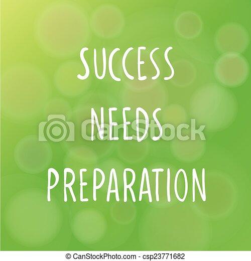 concetto, successo - csp23771682