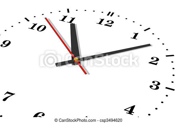concetto, tempo - csp3494620