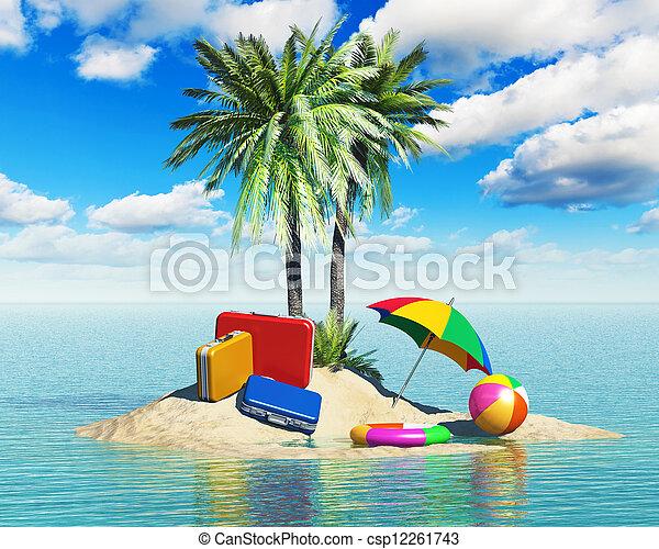 concetto, turismo, vacanze, viaggiare - csp12261743