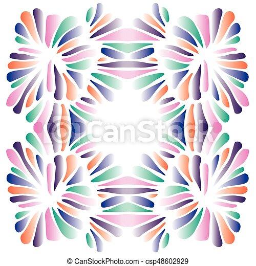 Patrón de concha mulitcolor - csp48602929