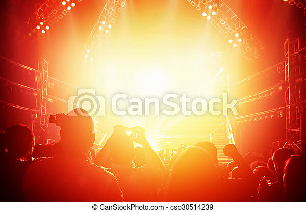 Trasfondo de concierto - csp30514239