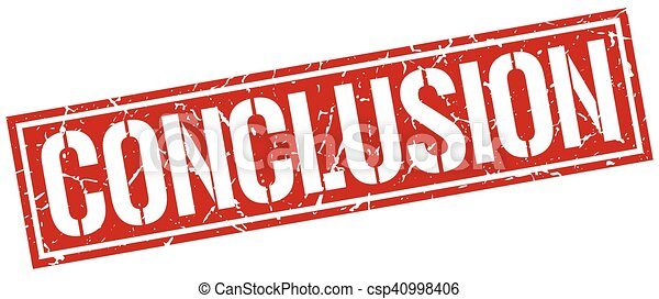 conclusion square grunge stamp vector clipart search illustration rh canstockphoto ca conclusion clipart images