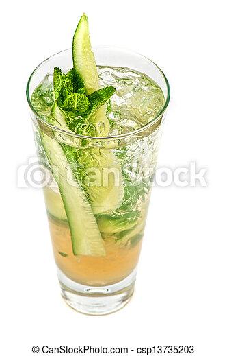 concombre, cocktail - csp13735203