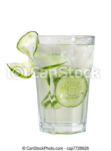 concombre, cocktail - csp7728626