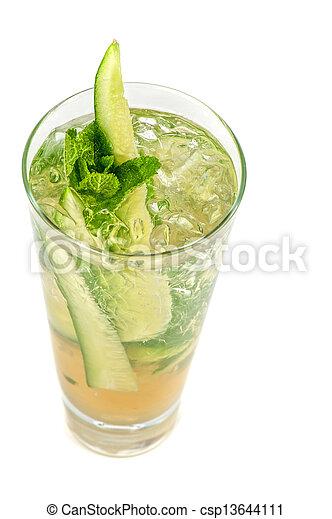 concombre, cocktail - csp13644111