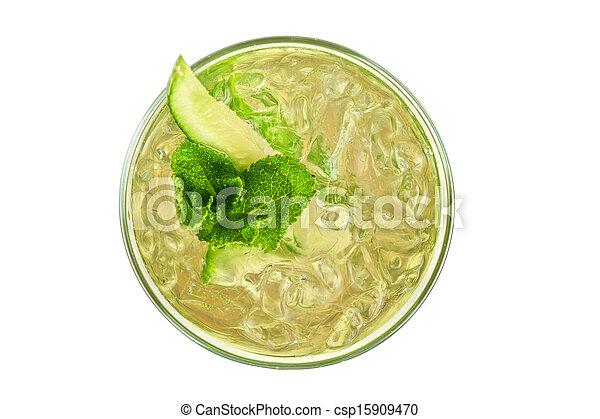 concombre, cocktail - csp15909470