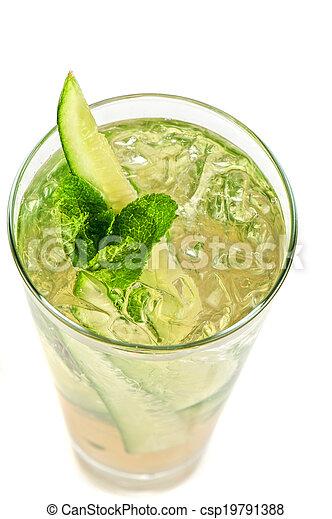 concombre, cocktail - csp19791388