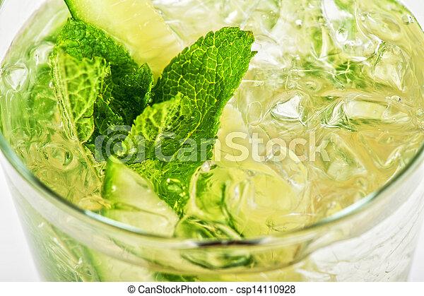 concombre, cocktail - csp14110928