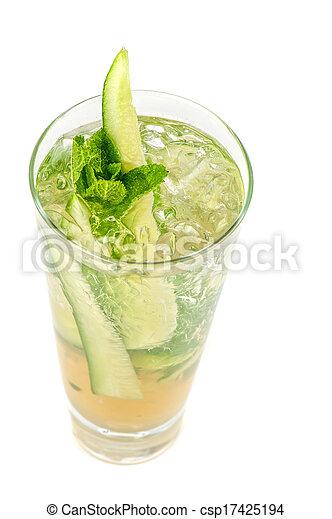 concombre, cocktail - csp17425194