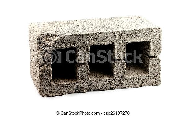 concrete block - csp26187270