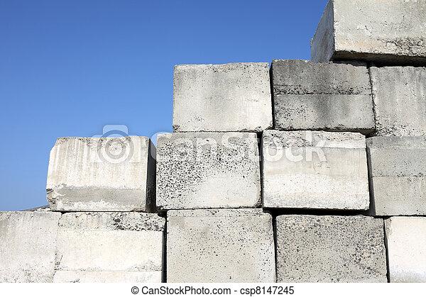 concrete blocks - csp8147245